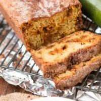 Soft snickerdoodle zucchini bread ohsweetbasil.com