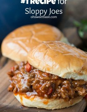 The BEST sloppy joes recipes out there, and we should know, we just tested them all! ohsweetbasil.com