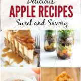 Delicious Apple Recipes on Oh Sweet Basil including sweet and savory treats that you will love!
