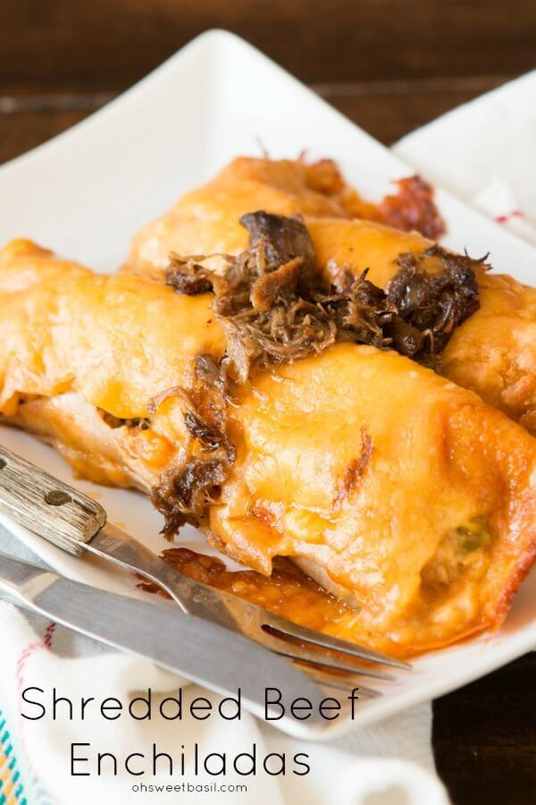 Leftovers can be amazing, especially when salsa con queso is involved! Shredded beef enchiladas are on the menu tonight!