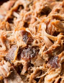This pulled pork is the best I've ever had and it's made in the oven! Check out my south carolina husband's secrets for the best pork! ohsweetbasil.com