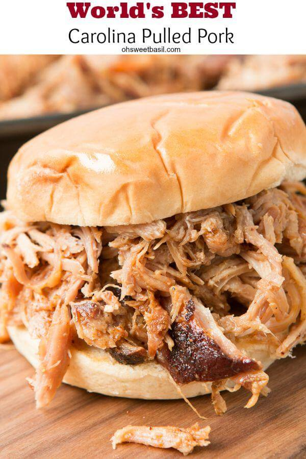 Carolina pulled pork recipe