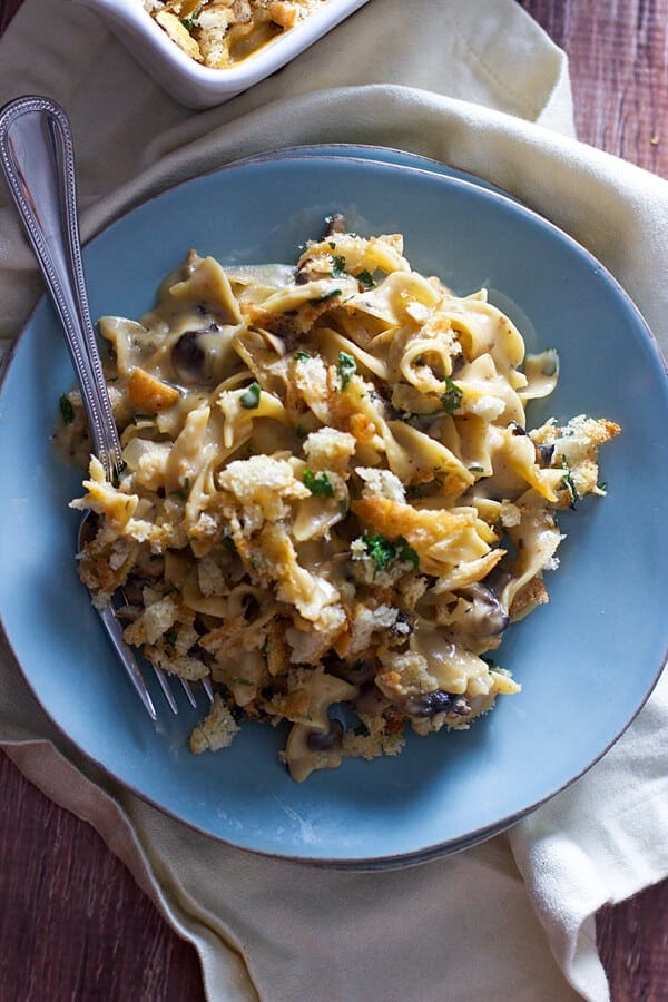 Lightened-Up Chicken Tetrazzini