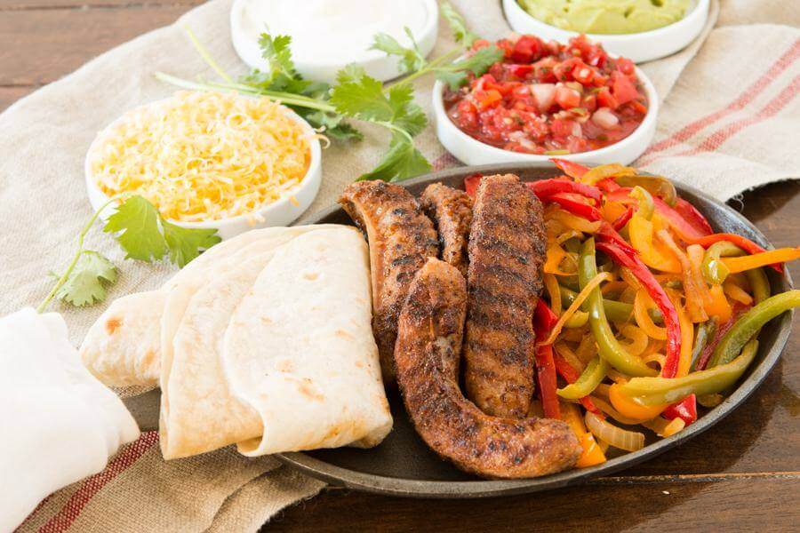 These quick and easy Italian Fajitas are made with flavorful Johnsonville sausages and are so fast to make on a busy week night!