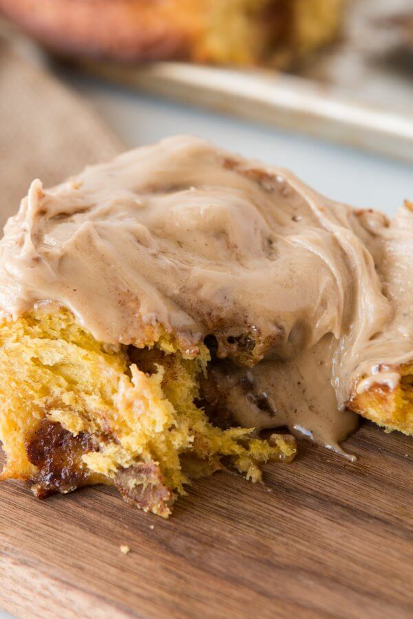 It isn't fall without pumpkin and maple, am I right? The next family gathering should include our maple glazed pumpkin pie cinnamon rolls for sure!