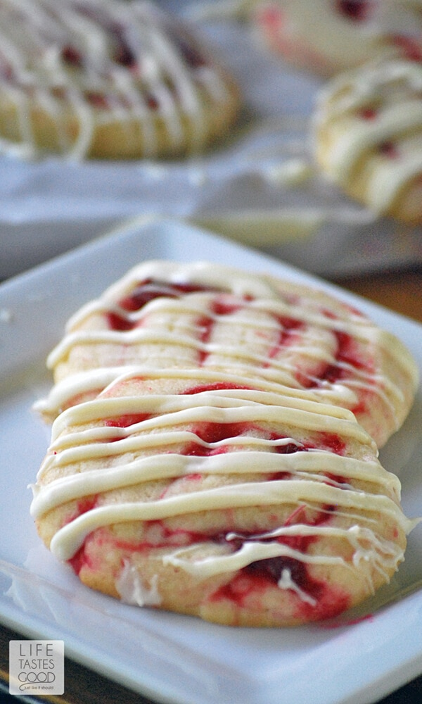 Cranberry Pinwheel Cookies | by Life Tastes Good