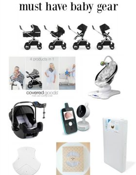 We researched and researched and here is our Must have baby gear! ohsweetbasil.com