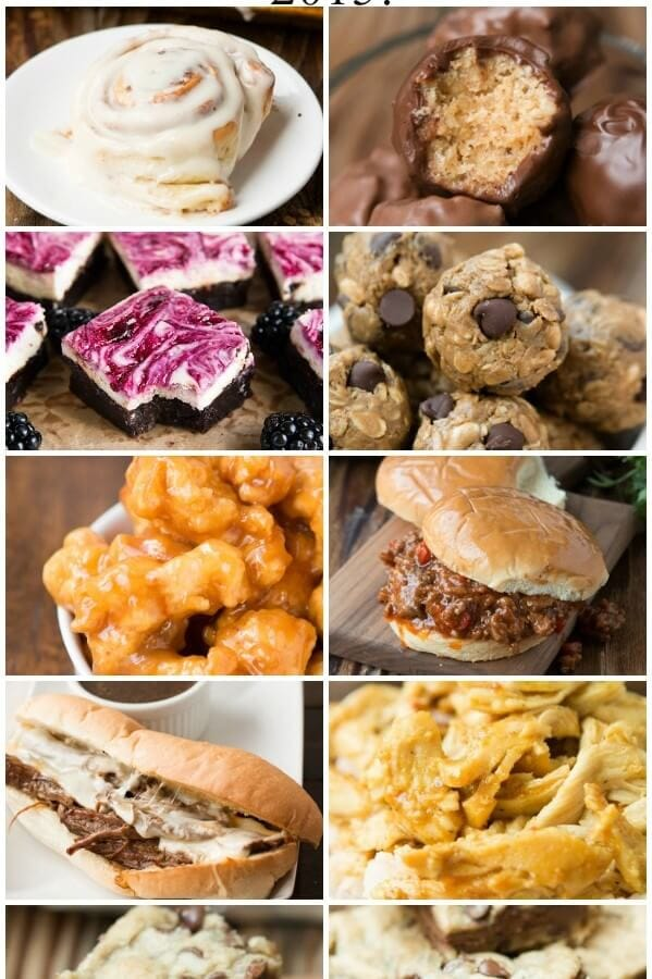 best recipes of 2015 that you must try! ohsweetbasil.com