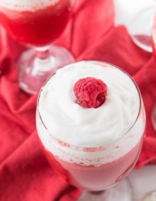 raspberry jello fluff ohsweetbasil.com