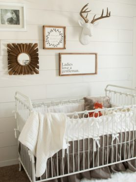 Baby Boy Nursery Ideas ohsweetbasil.com