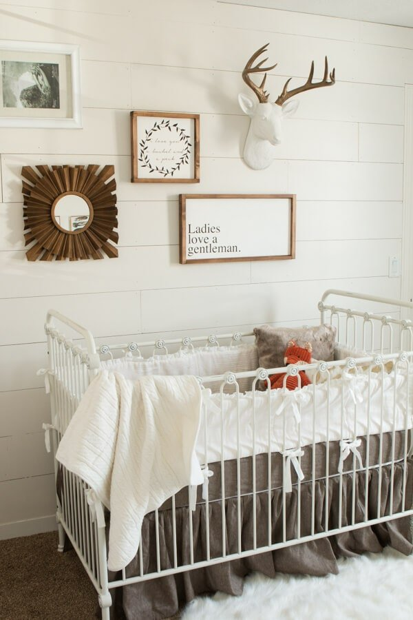 Baby Boy Nursery Ideas ohsweetbasil.com