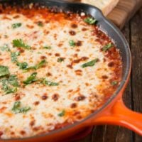 Game day cheesy lasagna dip ohsweetbasil.com