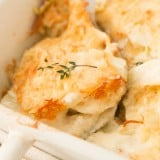 These are fantastic! Smoked gruyere scalloped potatoes and the trick to getting them perfectly baked ohsweetbasil.com