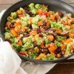 Vegetarian Quinoa Skillet