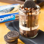 Mini Peanut Butter Oreo Trifles