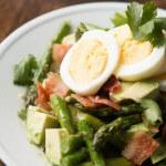 Asparagus Avocado Salad