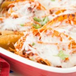 Baked Spaghetti Tacos ohsweetbasil.com