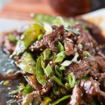 Asian Beef with Snow Peas and Edamame