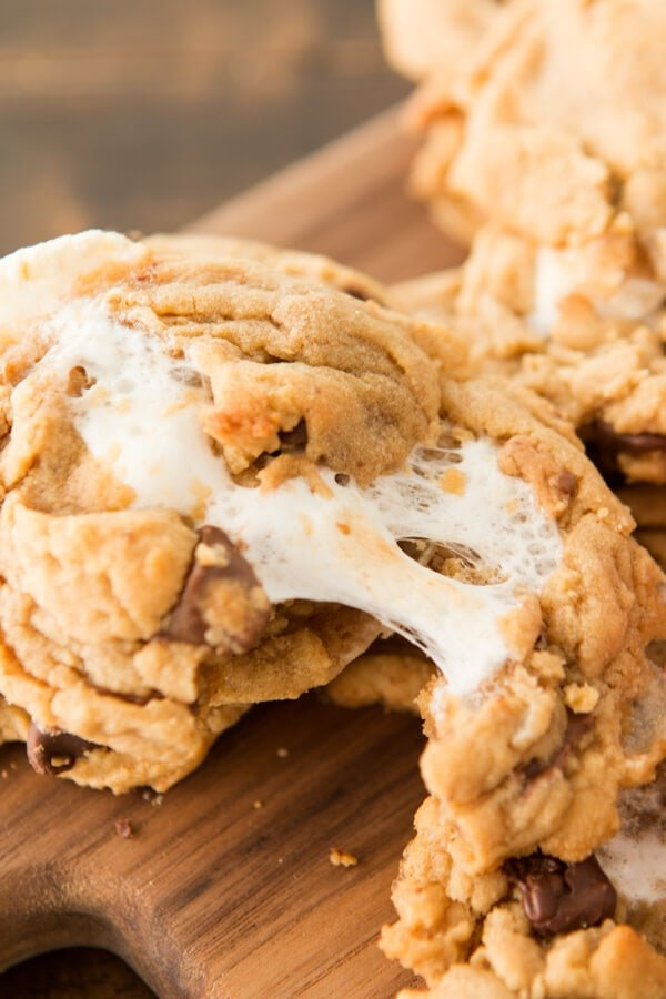 reese's-marshmallow-peanut-butter-cookies-ohsweetbasil.com-7
