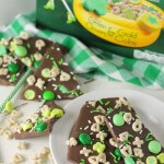 St. Patrick's Day Mint Chocolate Lucky Charms Bark