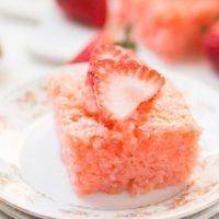 easy-moist-strawberry-lemonade-jello-cake-ohsweetbasil.com