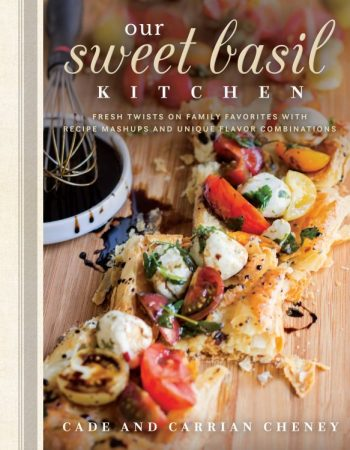 IT'S TIME!!! Cade and I are so excited that there's an oh, sweet basil cookbook that you can preorder right now called, Our Sweet Basil Kitchen!!
