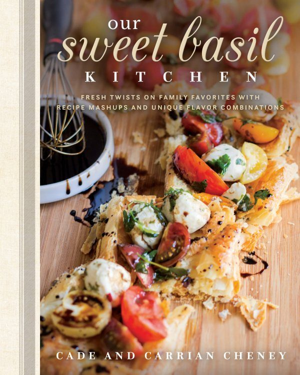 IT'S TIME!!! Cade and I are so excited that there's an oh, sweet basil cookbook that you can preorder right now called, Our Sweet Basil Kitchen!! ohsweetbasil.com