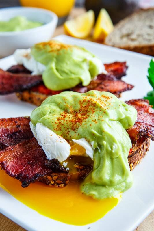 bacon and eggs benedict It's that time of year again. In case your family is like ours and you want an extra special day we have a Father's Day Recipes Roundup to help!