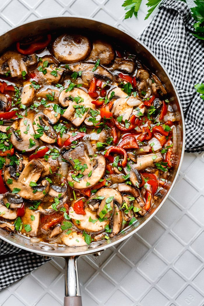 Best Sauteed Mushrooms in the world with 1 Secret SAUCE!
