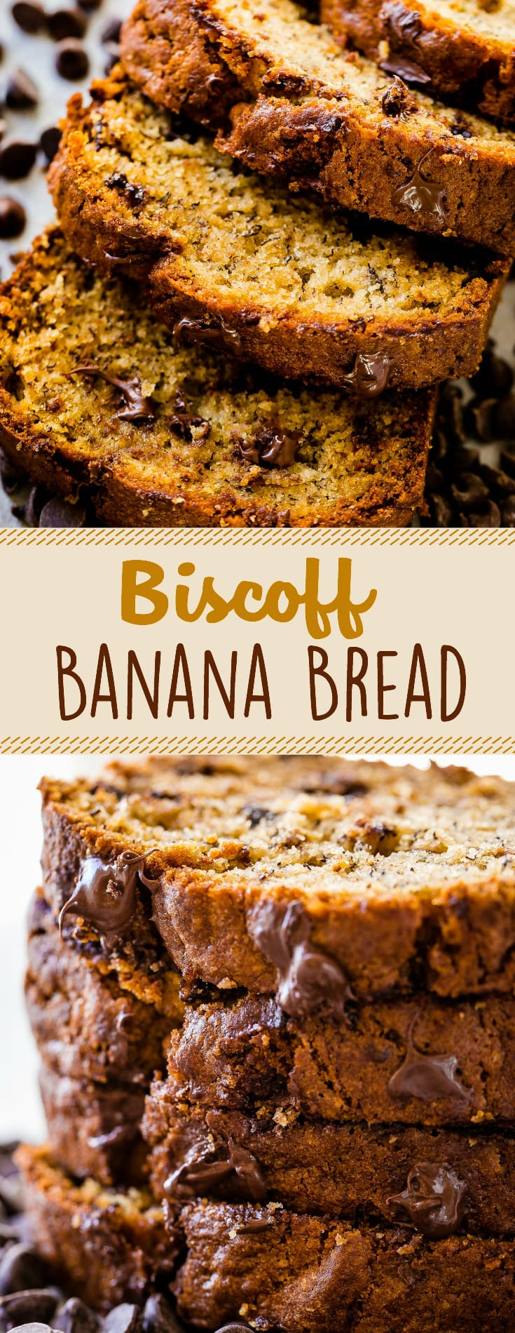 This Biscoff Banana Bread recipe has become our hands down favorite new way to make banana bread. The flavor from the Biscoff is subtle and so good!
