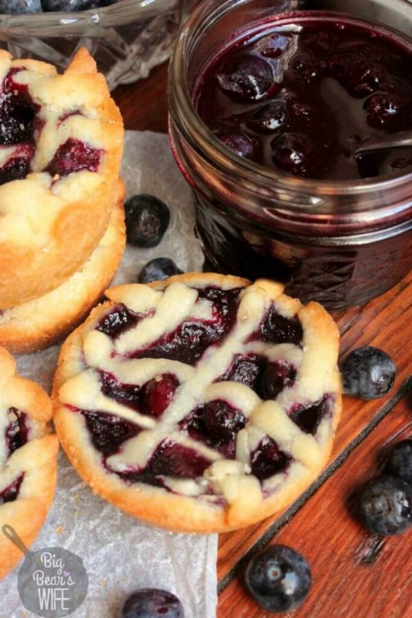 Blueberry Pie Sugar Cookies are looking really yummy!!