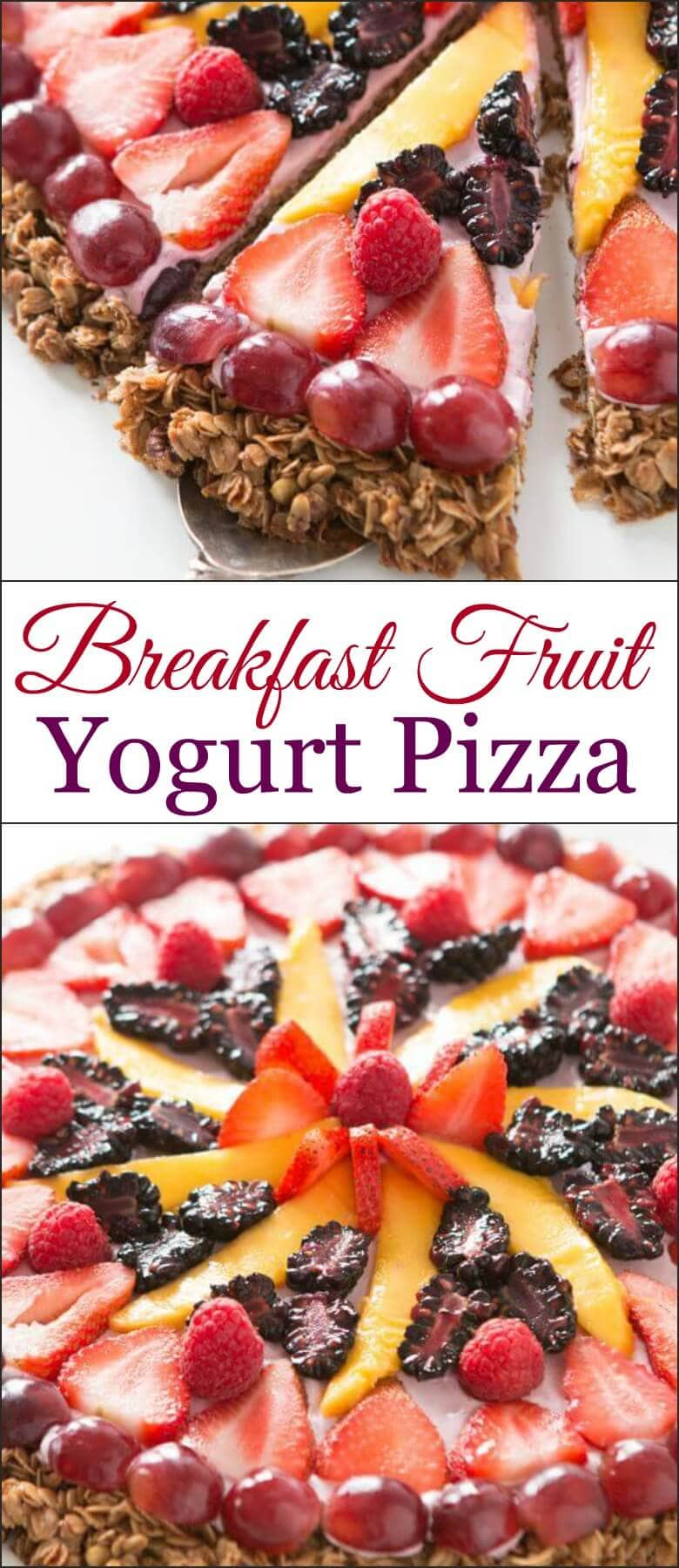 Watch Easy Fruit Breakfast Pizza video