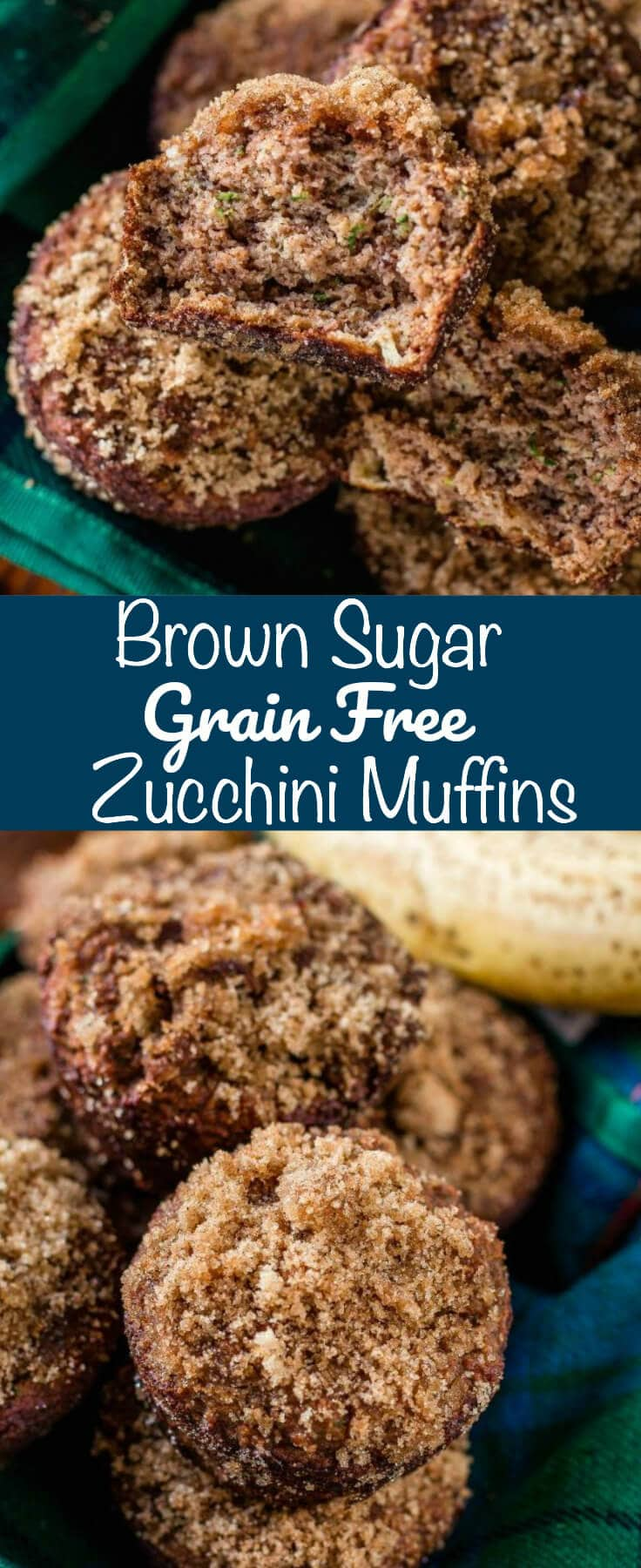 If you're looking for an organic, grain free recipe for breakfast, this is it!! Our Brown Sugar Grain Free Zucchini Muffins are soft, moist, and delicious!