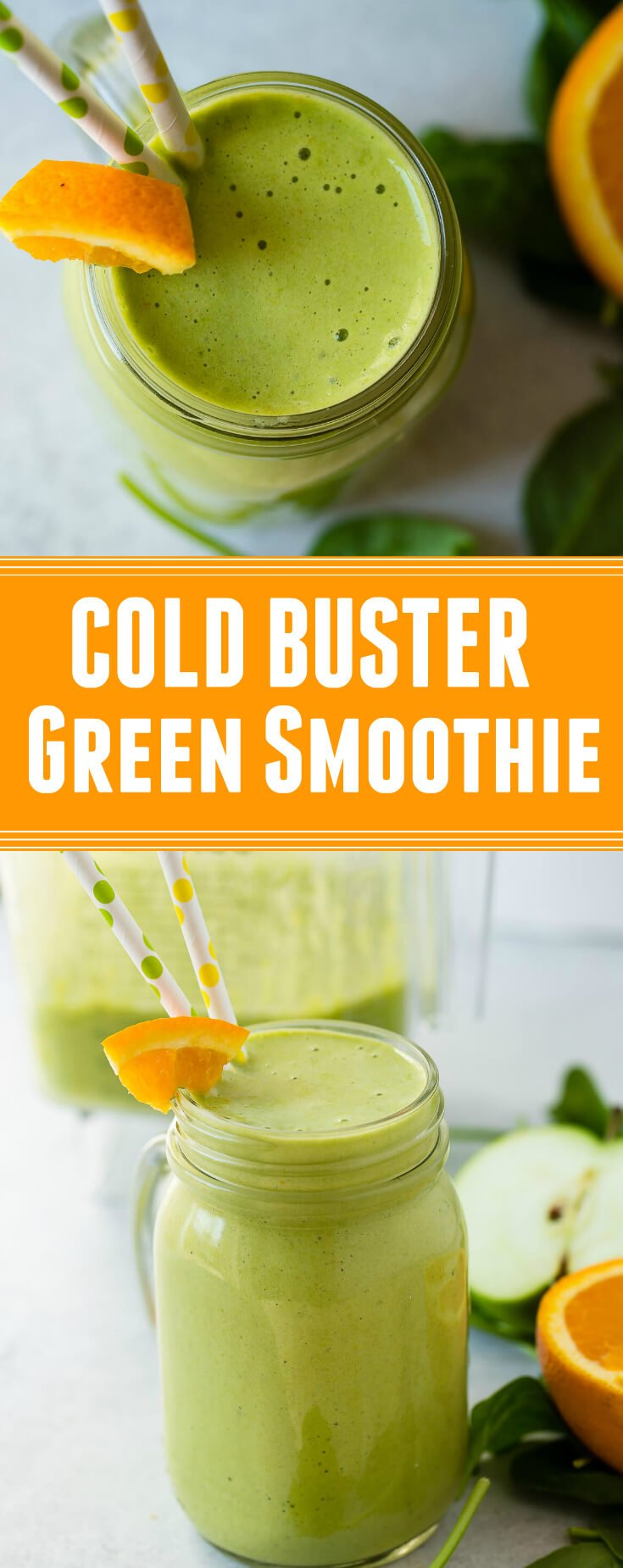 You don't have to pass a cold around all winter. last year we cracked down and learned how to fight a cold- cold buster green smoothie.