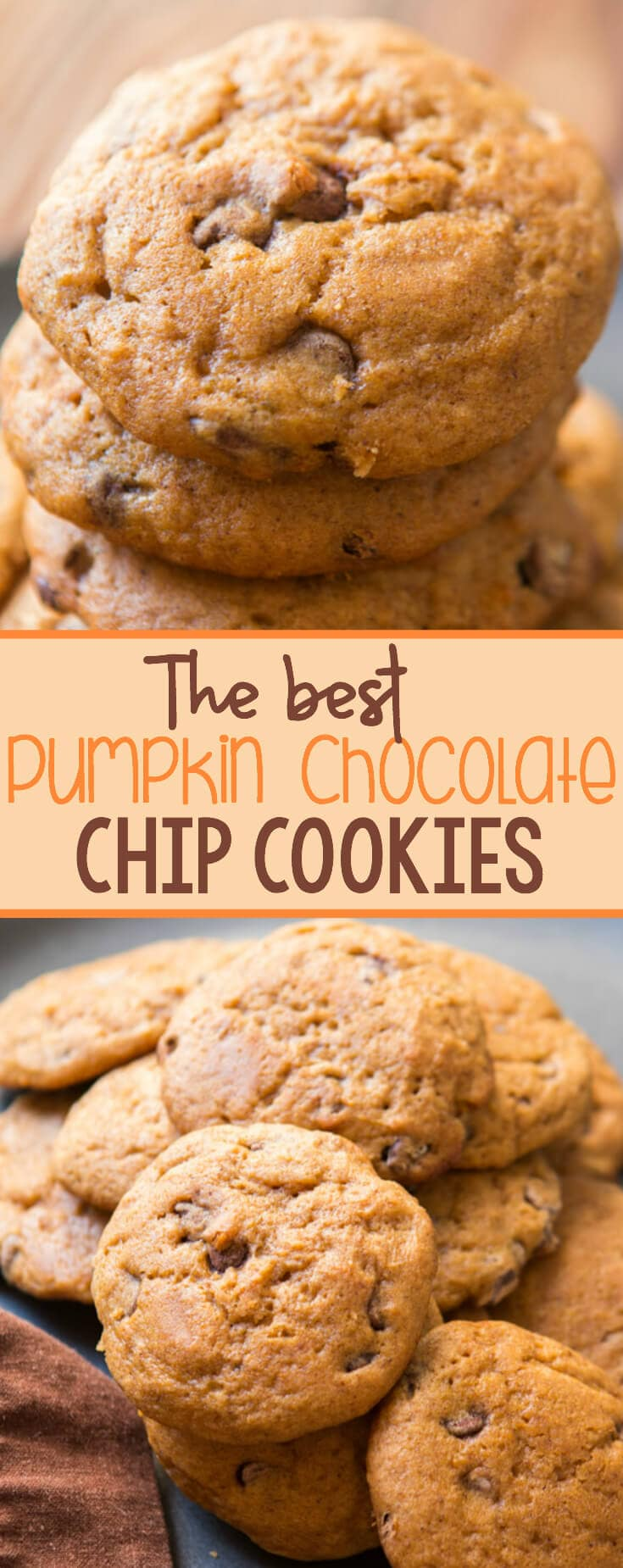 We searched for the best pumpkin chocolate chip cookies recipe and today we are sharing it with all of you!!