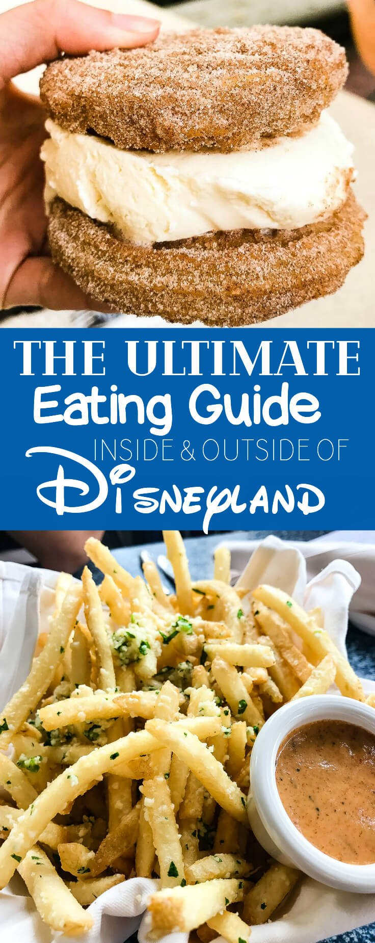 Everyone posts about food at Disneyland, but I want to know what's worth it and what's not. The Ultimate Eating Guide Inside and Outside of Disneyland.