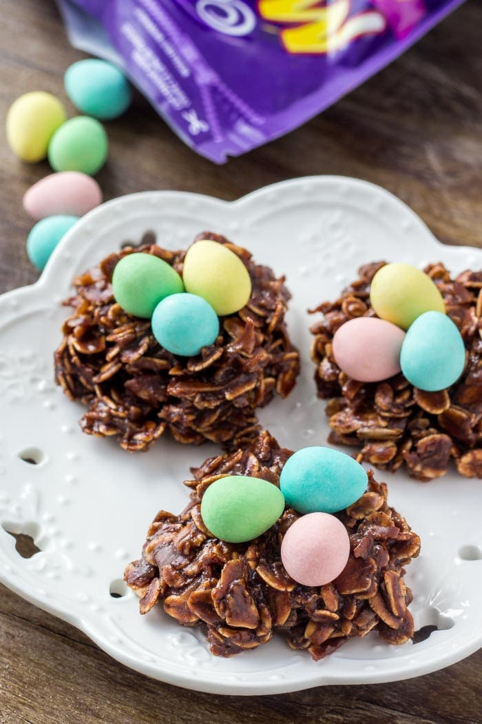 Easy Easter Nest Cookies