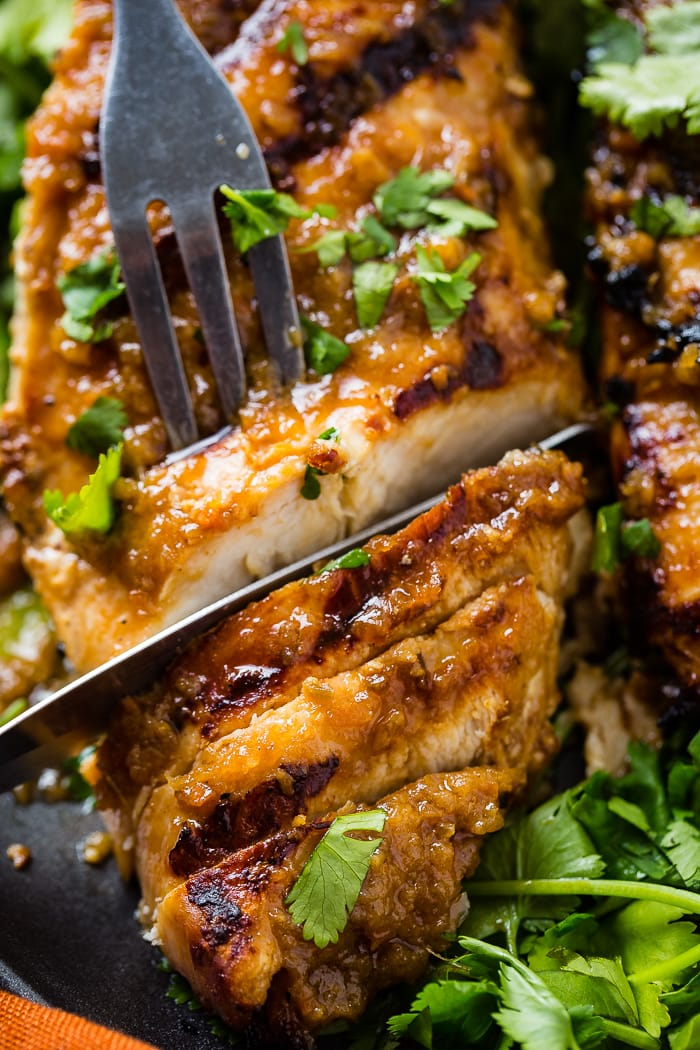 Asian Ginger Marinade for Grilled Chicken