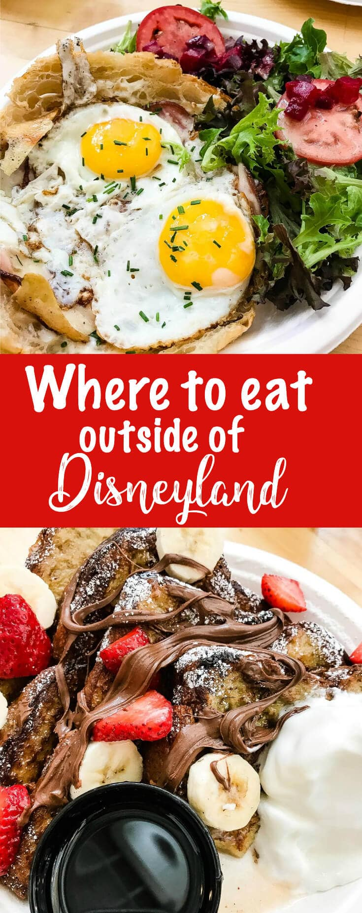 t's here!! Your trip to Disneyland has begun and you can't wait to get to the park, but suddenly you realize you don't know where to eat outside of Disneyland!