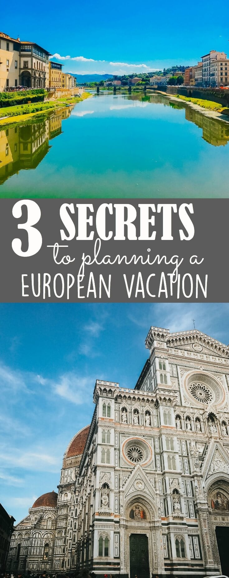 Everyone needs a friend who travels so that they can fill you in on the 3 secrets to planning a European vacation and we are going to be that friend for you.