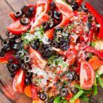 Fresh Italian Veggie Salad