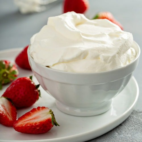 Homemade Whipped Cream Recipe (Quick & Easy!) - Oh Sweet Basil