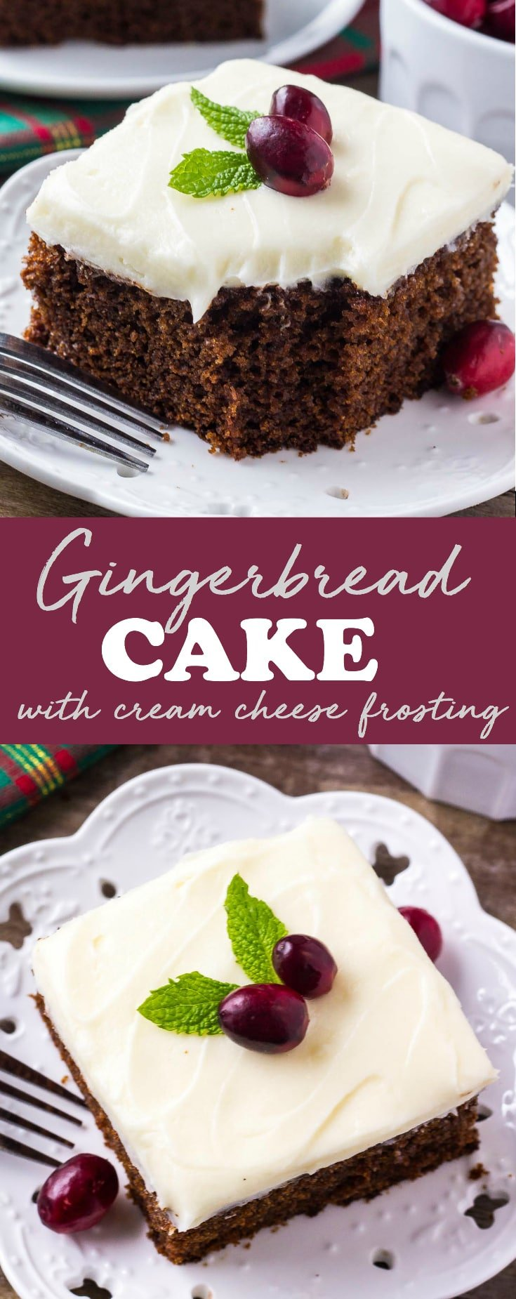 gingerbread cake recipe
