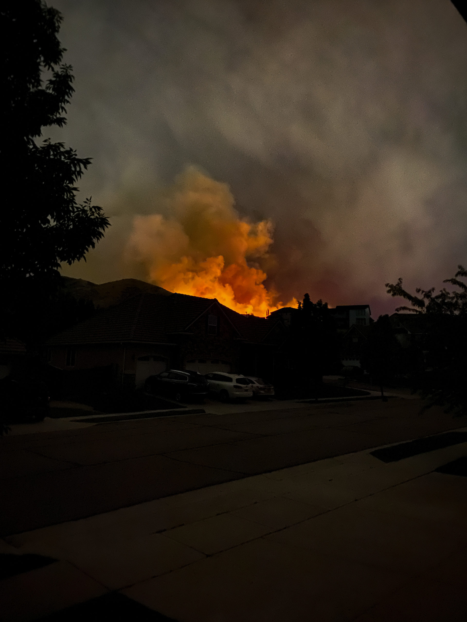 traverse mountain fires