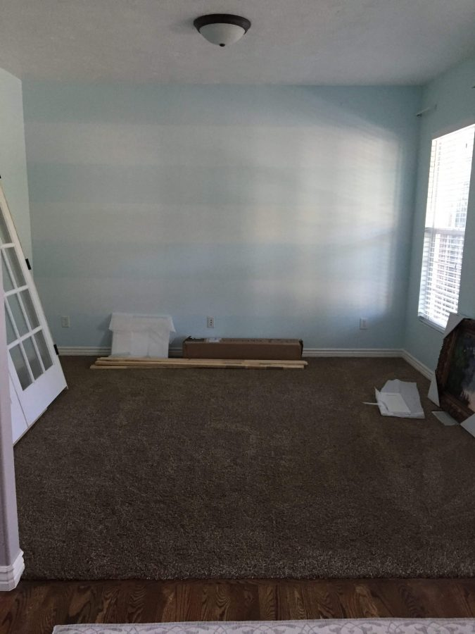 Follow along on our journey in the making of an office. It's not just about throwing a desk in a room, this was about so much more for our little family.