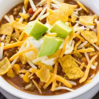 Instant Pot Taco Soup [+ Video]