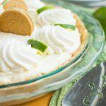 Key Lime Oreo Truffle Cream Pie
