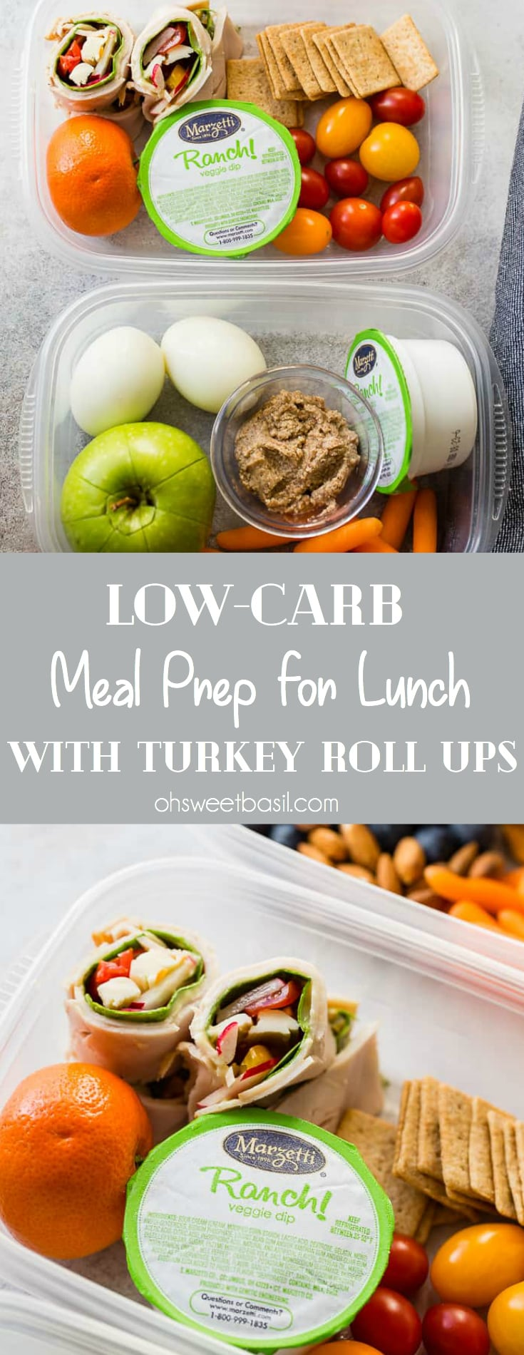 Let's talk about lunch and how much it's the worst meal of the day. Or it was. I've become a convert with this low-carb meal prep for lunch with turkey roll ups!