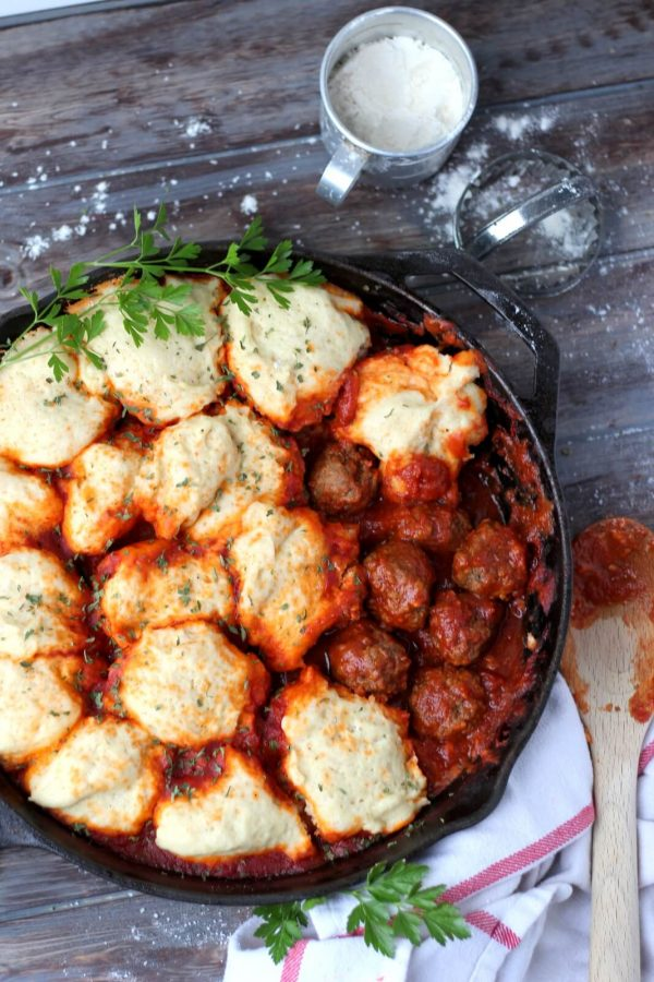 Meatballs and Dumplings (Dairy-Free) - a perfect weeknight meal the entire family will love!