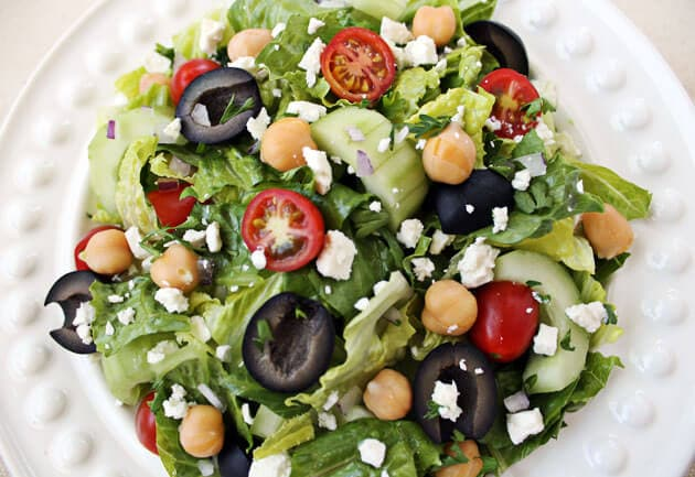Mediterranean Chopped Salad Culinary Hill